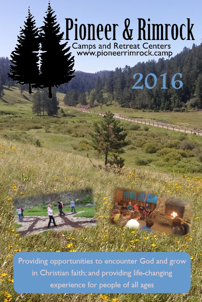 2016 Pioneer & Rimrock Brochure Cover