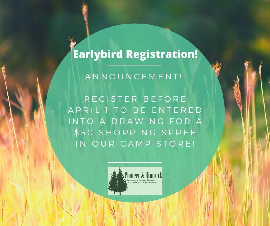 Earlybird Registration